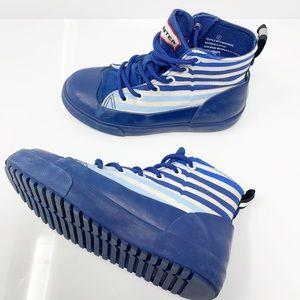 Hunter Waterproof High Top Sneaker/Boot